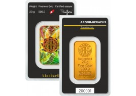 Lingotto Oro Puro 20 grammi
