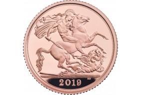 Sterlina Oro Elisabetta II  2019