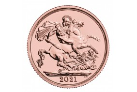 Sterlina Oro Elisabetta II  2021