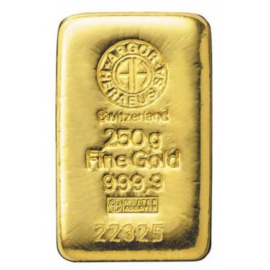 Lingotto Oro Puro 250 grammi