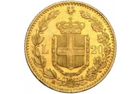 Marengo Italiano 20 Lire Vittorio E. II