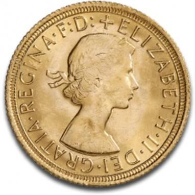 Sterlina Oro Elisabetta II  Fiocco