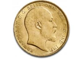 Sterlina Oro Edoardo VII