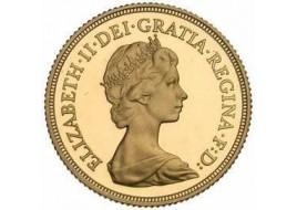 Sterlina Oro Elisabetta II  Corona